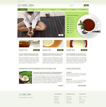 Tea Website Template