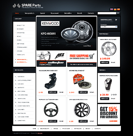 Website Template #23932