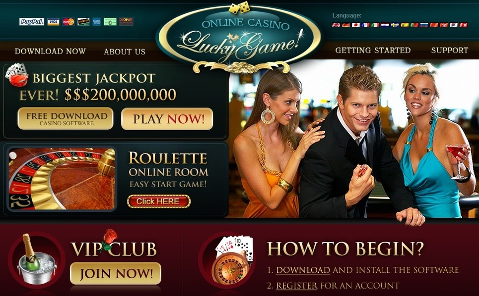 Online Casino Website Template New Screenshots BIG