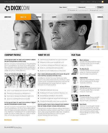 Website Template #23985