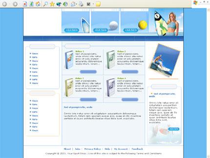 Website Template #2455