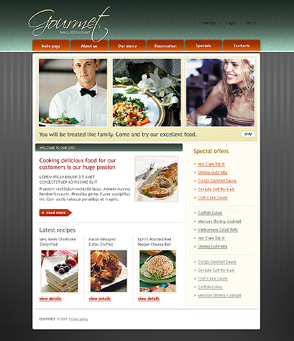 Website Template #24005