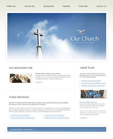 Website Template #24048