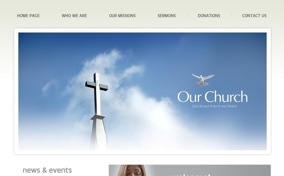 Religious SWiSH Template New Screenshots BIG