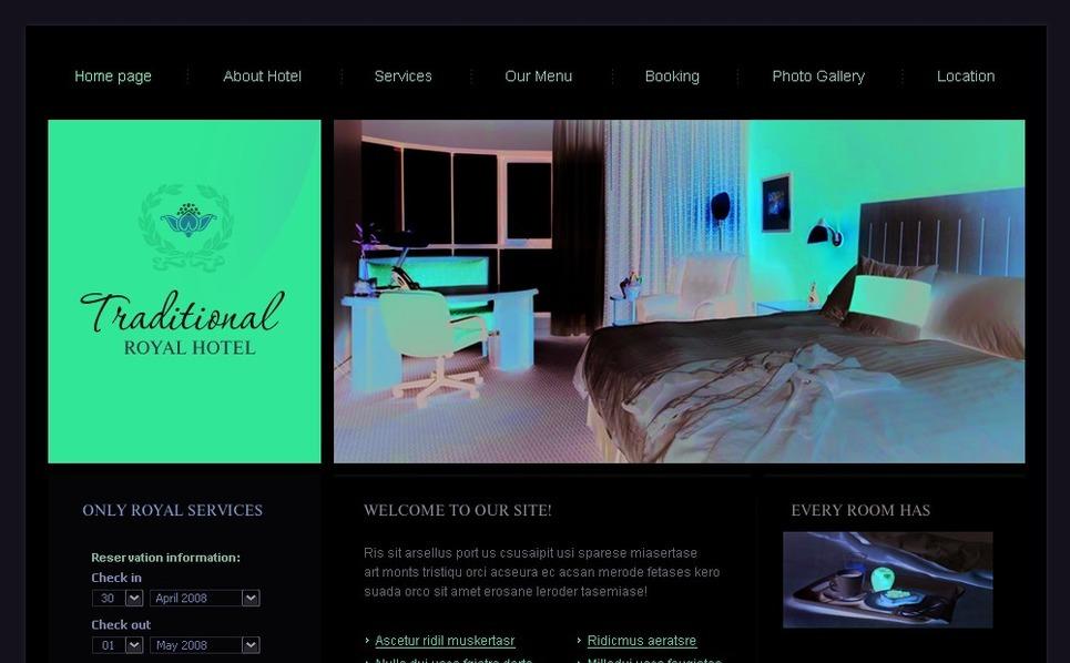 Hotels SWiSH Template New Screenshots BIG