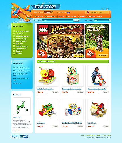 Website Template #24418