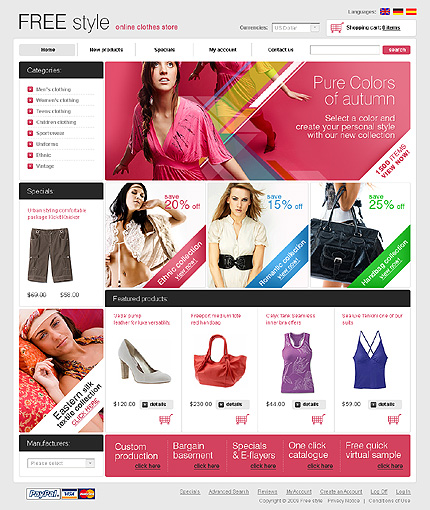 Website Template #24596