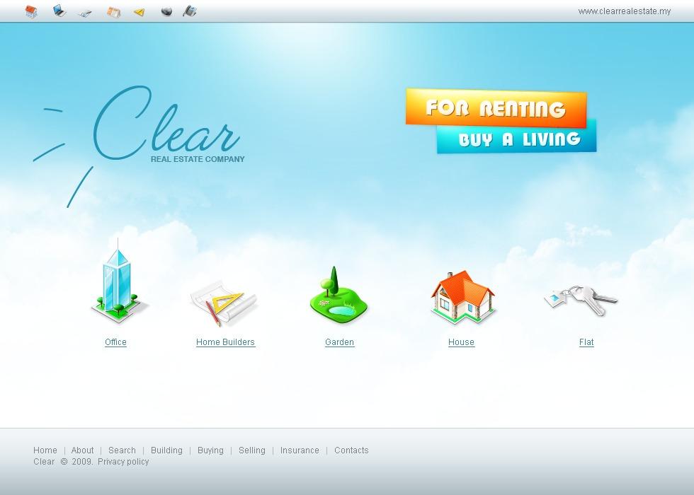 Современный сайт дизайн