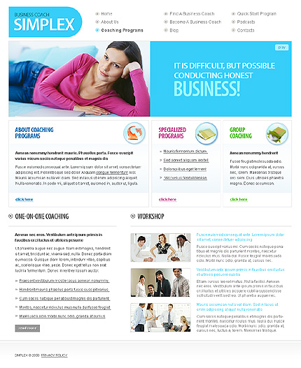 Website Template #24643