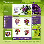 Template #24654  Keywords: flower online shop store  flowers gifts birthday wedding engagement occasions specials exclusive roses lilies orchid chrysanthemum tulip order services order packing present cards holiday celebration catalog delivery chamomile daisy rose bouquet wrapping