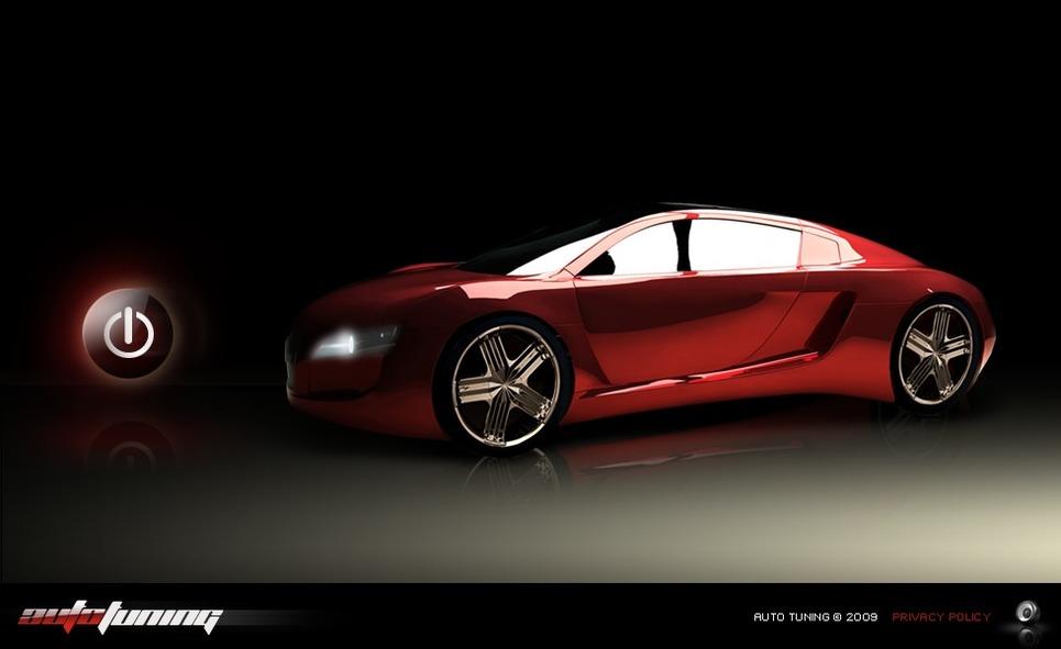 Car Tuning Flash Template New Screenshots BIG