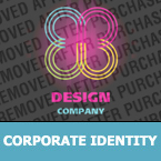 Corporate identity template #24733 by Logann