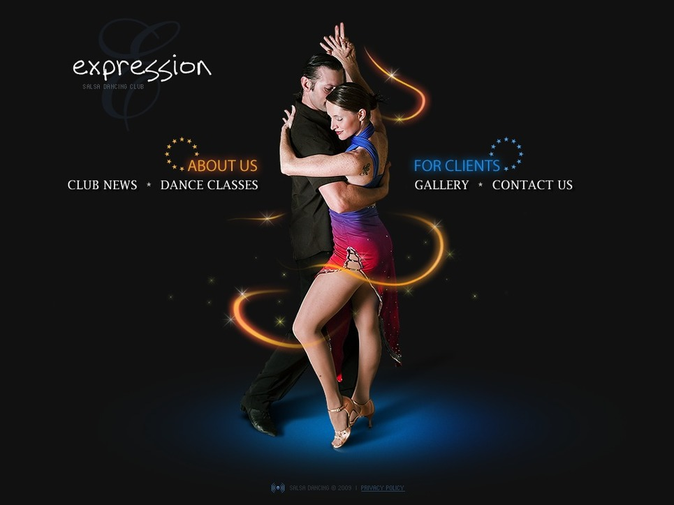 Dance Studio Flash Template New Screenshots BIG