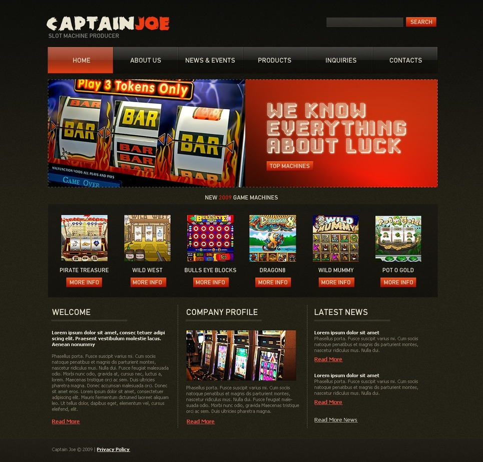 free slot games for your website