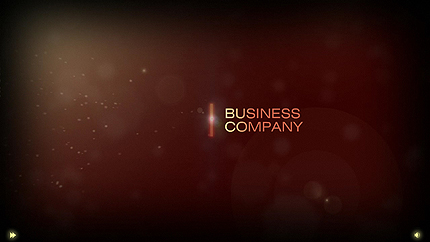Business Flash Intro Template FLASH INTRO SCREENSHOT