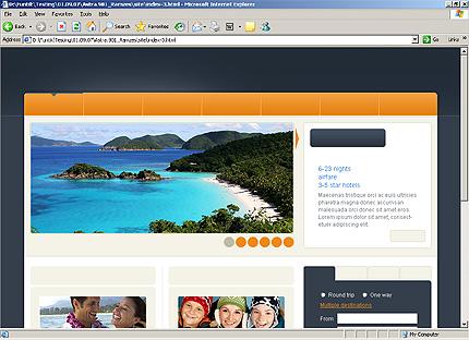 Website Template #25198