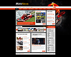 Website template #25229 by Mercury