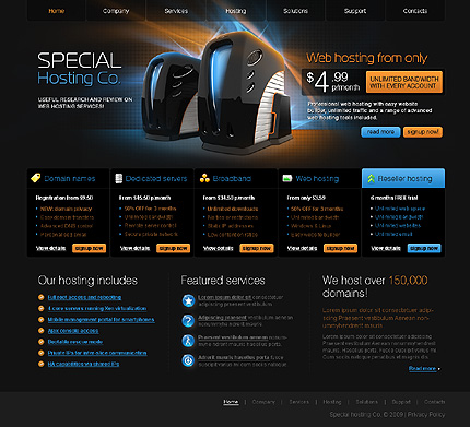 Website Template #25386