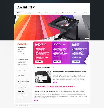 Website Template #25629
