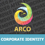 Corporate identity template #25644 by Logann
