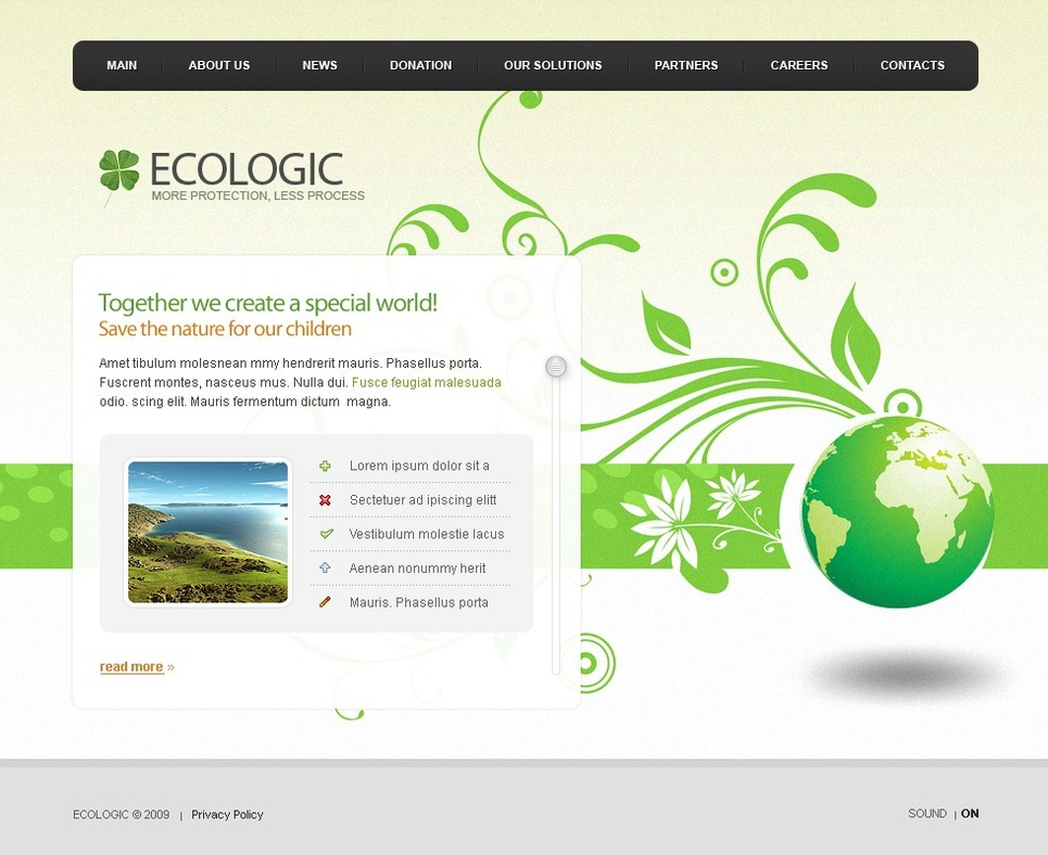 Environmental Flash Template New Screenshots BIG
