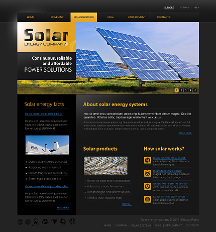 Website Template #25713