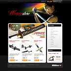 osCommerce template #25715 by Di