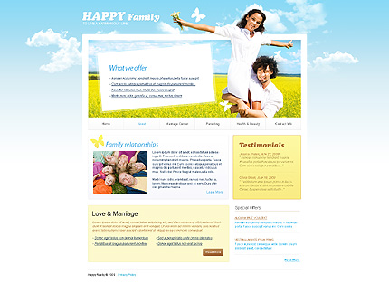 Website Template #25799