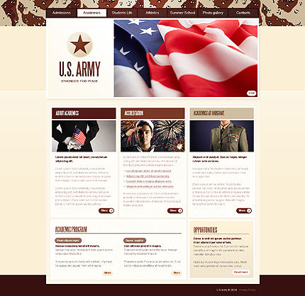 Website Template #25900