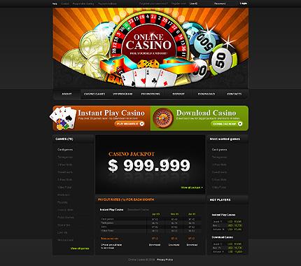 Бесплатные шаблоны сайтов казино и покера - Сеоштейн