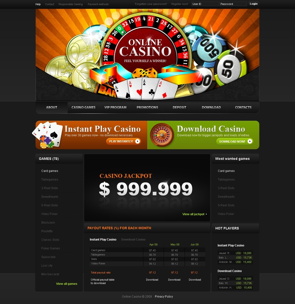 free casino websites