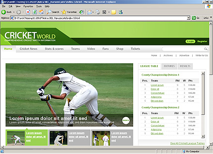 Website Template #25946