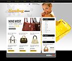 Template #25958  Keywords: handbag boutique store purse bag bags shop store fancy bag leather fashion