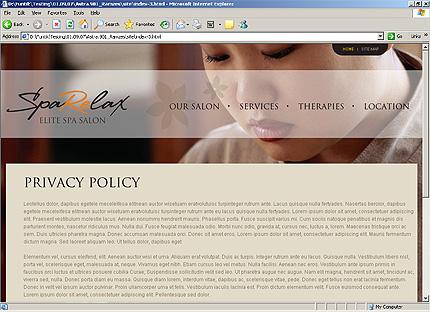 Website Template #26107