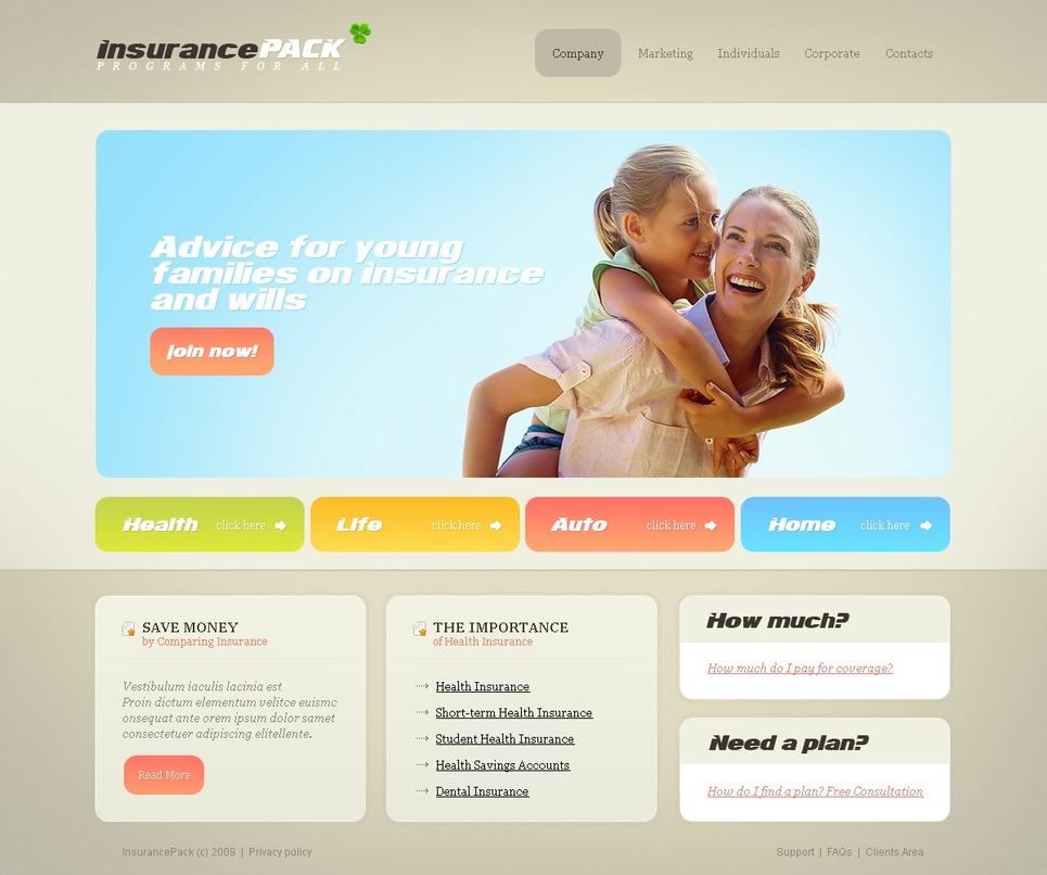 insurance website template web design templates website templates