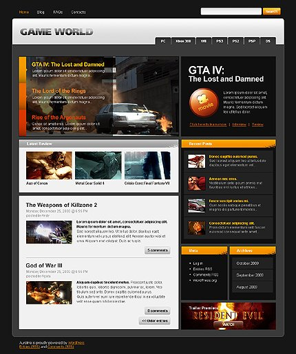 Website Template #26300
