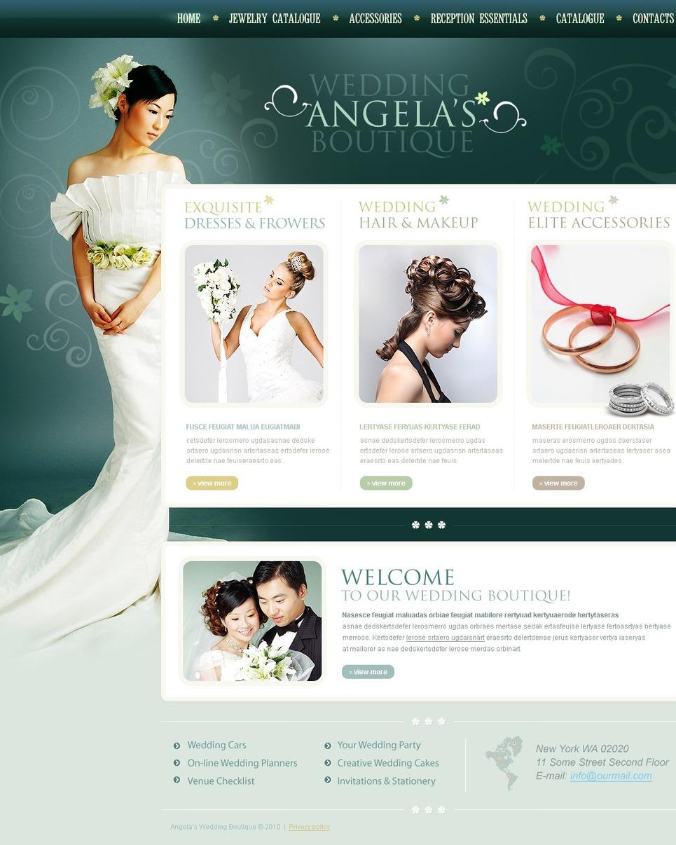 Wedding Shop Website Template New Screenshots BIG
