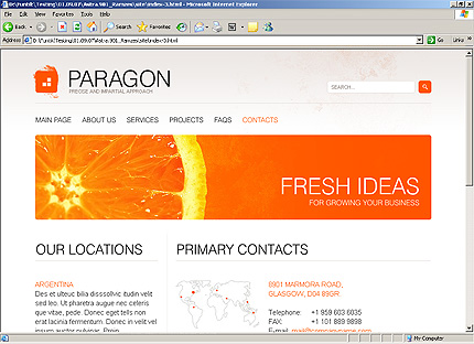 Website Template #26403