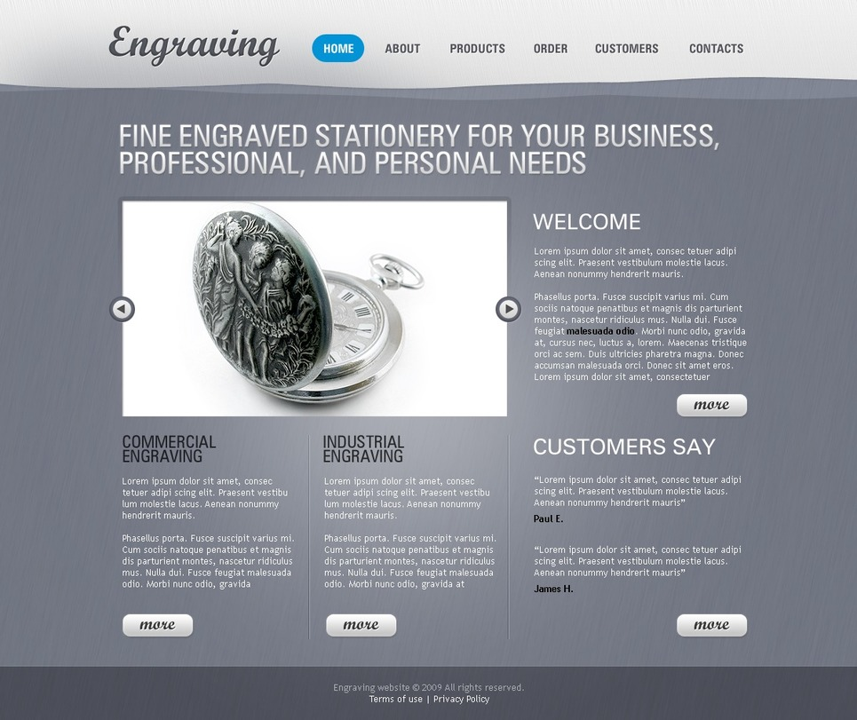Crafts Website Template New Screenshots BIG