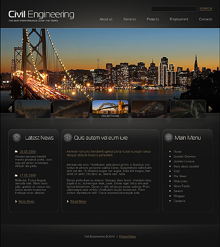 Website Template #26528