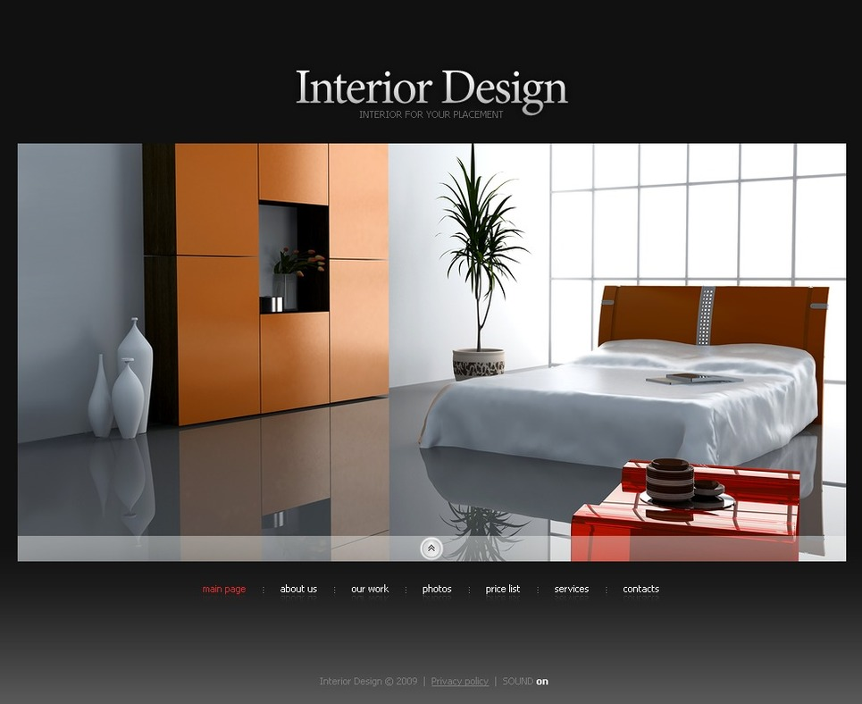 Interior Design SWiSH Template New Screenshots BIG
