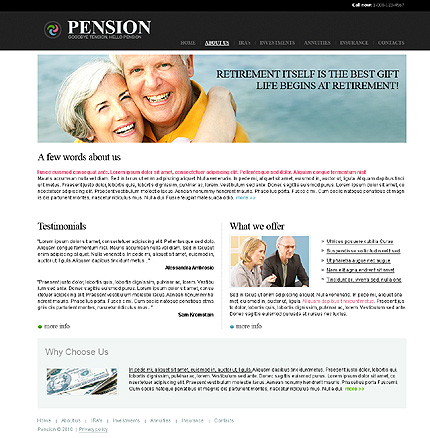 Retirement Program Templates