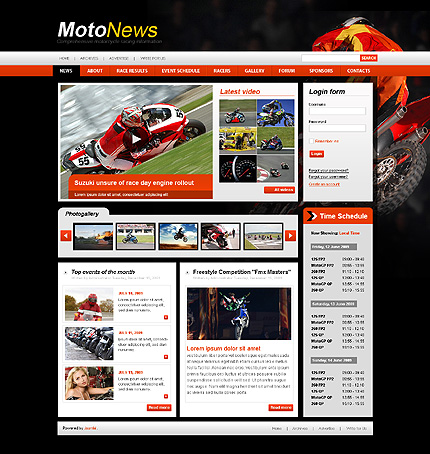 Website Template #26797