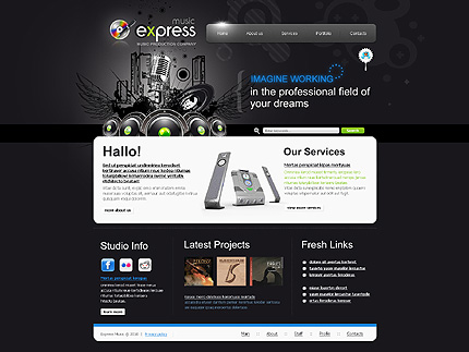 Website Template #26859