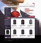 Template #26927  Keywords: ego style store fashion men man corporate shop suit tie coat jacket clothes