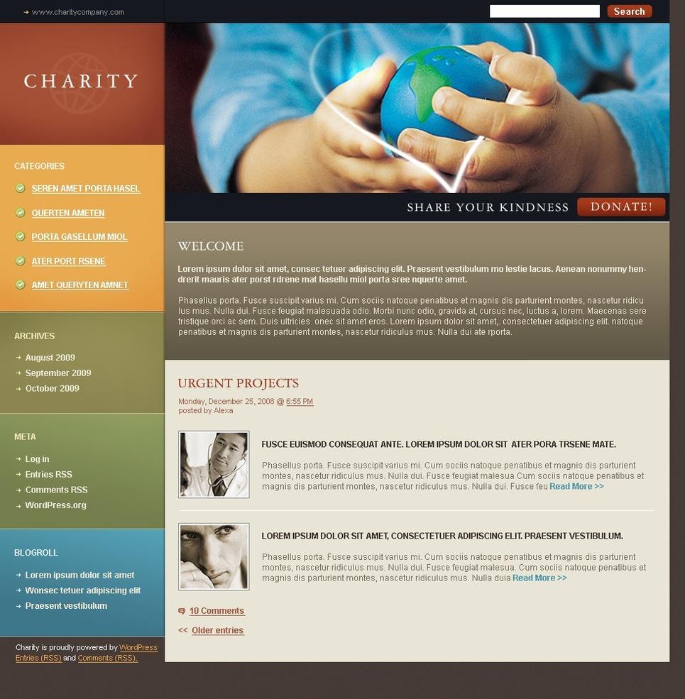 Charity - Best WordPress Charity Organization Theme