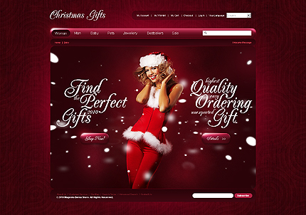 Website Template #26984