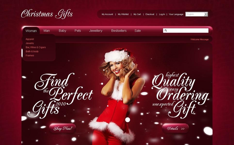 Christmas Magento Theme New Screenshots BIG