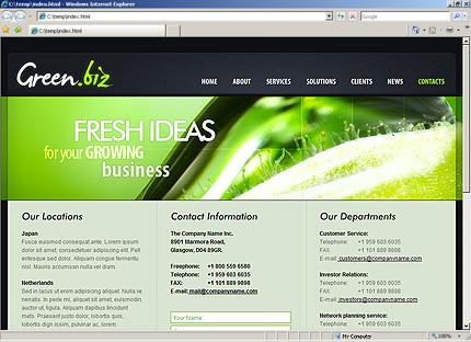 Website Template #27025