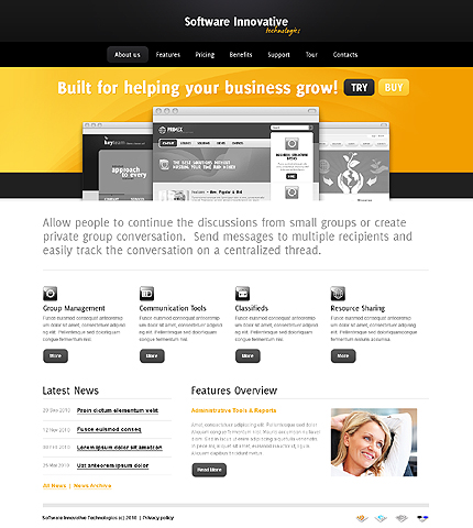Website Template #27028
